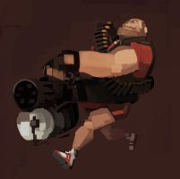 Heavy's Shorts by michaelfirman