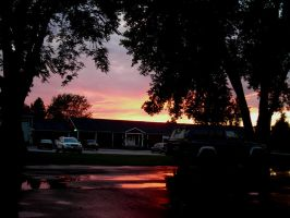 a pavement on fire by cliford417
