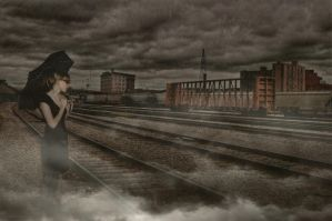Waiting For A Train by Bark