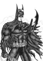 Batman by mkozmon