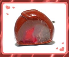Cherry Cordial Charm PRIZE by chat-noir