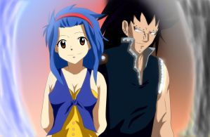 Fairy Tail Gajeel And Levy by Mr123GOKU123