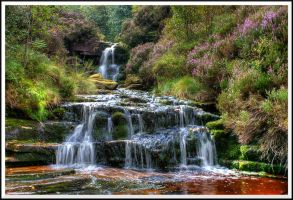 Waterfall, Audenshaw Clough... by TheBaldingOne