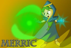 Merric, Mirthful Wind Mage of Altea by jules1998