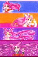 Stages of Chibiusa DONE by Tanis711