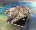 Millennium Falcon by fiend-upon-my-back