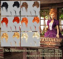 Fairytale Hair #2 by Trisste-stocks
