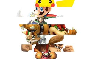 Super Smash Bros by vgwallpapers