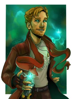 Star-Lord by SixofClovers