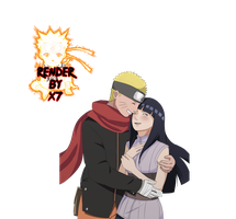 NaruHina Render By X7 by X7DeviantaArt