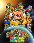 Super Mario All-Star Attack - Poster by KingAsylus91