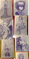 Huge Homestuck Dump by joannawentbananas