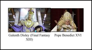 Disley VS The Pope by RoseDarkDragoon