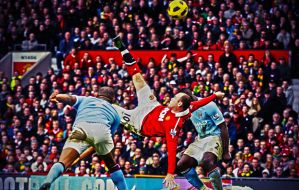 Rooney vs Manchester City HDR by ticssou