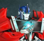 Optimus Prime by ralloonx