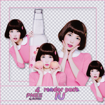[PACK RENDER #86] 4 PNGS IU by RinYHEnt