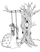Time tree ::for colouring:: by riziak