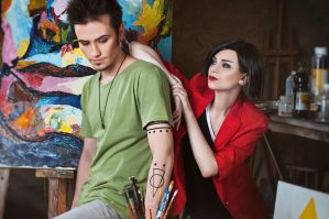 Jane and Trent Lane - Daria cosplay by LuckyStrike-cosplay