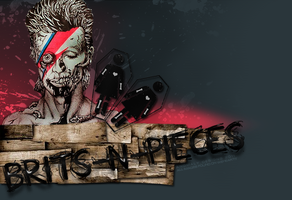Zombie Bowie by britsnpieces