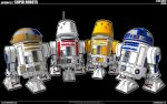 Star Wars - Droids by cosedimarco