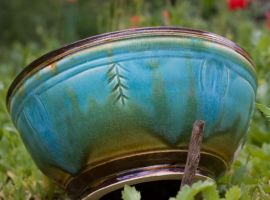 Trilobite Bowl 3 by Frost-indri