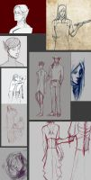 Morrowind sketches by RisingMonster