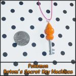 Pokemon Rotom Key Necklace by YellerCrakka