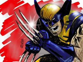 wolverine by jotapehq