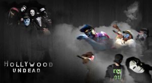 HollyWood Undead Wallpaper by The-Shadow-artist