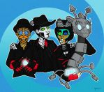 steam man band by nowand4ever