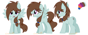 MLP OC Reference Sheet by DeerNTheHeadlights