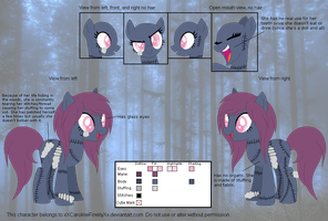 Madam Melba Official Reference Sheet by Caro-Kitty