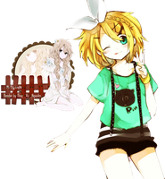 Render Kagamine Rin by R-Vy