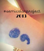 Semicolon Project by Puppy-41
