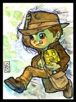 Lil Indy Sketch Card by lordmesa
