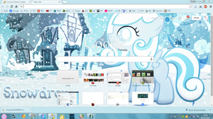 Snowdrop Google Chrome Theme v1.0 by XxZomBloxxorxX
