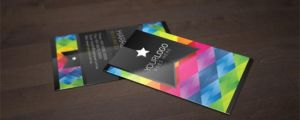 Free Business Card Mock Up by Bright-Pixel