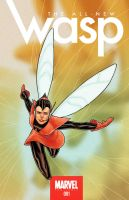 The All-New Wasp! Cover 1 by jimtowe