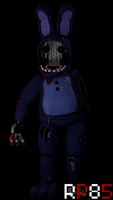 Withered Bonnie by RedPanda85