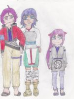 The Kuroshi Family by SapphireSky1992