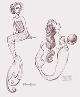 mondays are for mermaids by kacey-lynn