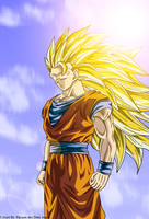 Goku SSJ 3 by DarkAngelAmv