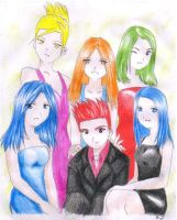 Me and my Bestfriends, my gift by jei