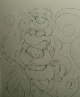 Octopus Squeeze  Ariel from Little mermaid by kaitakuan