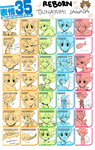 expression meme with tsuna by tokoco
