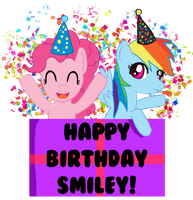Happy Birthday Smiley! by IcyPanther1