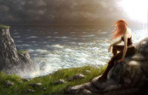 Guardians: On the Cliffs by doms3d