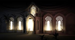 Prince of Persia Hall by vonkoz