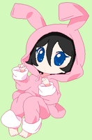 Rukia the bunny by Nekkohime