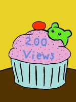 Thanks for 200 views by MasterRBG